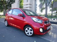 USED 2014 63 KIA PICANTO 1.0 1 3d 68 BHP ****FINANCE ARRANGED***PART EXCHANGE***1OWNER*** FREE ROAD TAX***