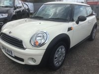 2010 MINI HATCH FIRST 1.4 FIRST 3d 1 OWNER  £5299.00