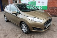 USED 2013 13 FORD FIESTA 1.6 TITANIUM ECONETIC TDCI 5d 94 BHP +Sony STEREO +FREE Tax +5 Door.