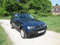 2005 BMW X3 2.5 i SE 5dr £4790.00