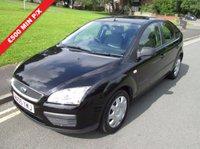 USED 2005 05 FORD FOCUS 1.6 LX 5d 100 BHP £500 MINIMUM PART EXCHANGE BALANCE PRICE SHOWN