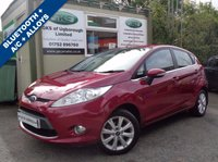 USED 2010 60 FORD FIESTA 1.2 ZETEC 5d 81 BHP - ONLY 19,000 MILES! **VEHICLE AT OUR UGBOROUGH  BRANCH**