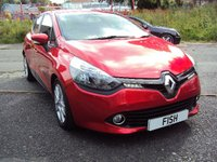 USED 2013 13 RENAULT CLIO 1.5 EXPRESSION PLUS ENERGY DCI S/S 5d 90BHP ZERO ROAD TAX+2KEYS+HISTORY+CD