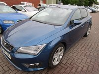 USED 2016 16 SEAT LEON 2.0 TDI FR TECHNOLOGY 5d 150 BHP 1 OWNER FULL DEALER HISTORY