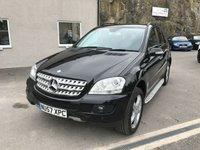 2007 MERCEDES-BENZ M CLASS 3.0 ML280 CDI EDITION S 5d AUTO 188 BHP £6895.00