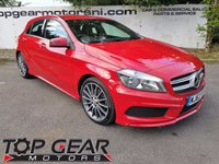 USED 2013 63 MERCEDES-BENZ A CLASS A180 1.5 CDI BLUEEFFICIENCY AMG SPORT 5d 110 BHP