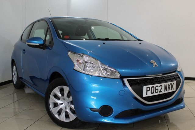 View our 2012 62 PEUGEOT 208 1.2 ACCESS PLUS 3DR 82 BHP