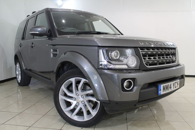 View our 2014 14 LAND ROVER DISCOVERY 3.0 SDV6 XS 5DR AUTOMATIC 255 BHP