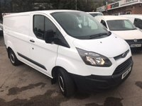 2016 FORD TRANSIT CUSTOM}