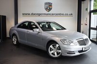 USED 2011 11 MERCEDES-BENZ S CLASS 3.0 S350 BLUETEC 4DR AUTO 258 BHP + FULL BLACK LEATHER INTERIOR + FULL MERC SERVICE HISTORY + SATELLITE NAVIGATION + BLUETOOTH + HEATED ELECTRIC SEATS + HARMAN/KARDON SPEAKERS + CRUISE CONTROL + RAIN SENSORS + PARKING SENSORS + 18 INCH ALLOY WHEELS +