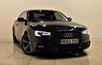 USED 2012 62 AUDI A5 2.0 TDI S LINE BLACK EDITION 2d 177 BHP + 1 PREV OWNER +  SERVICE HISTORY +  APPROVED DEALER