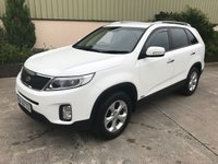 USED 2014 KIA SORENTO 2.2 CRDI KX-1 5d 194 BHP PRIVACY GLASS, 7 SEATS, ALLOYS, BLUETOOTH