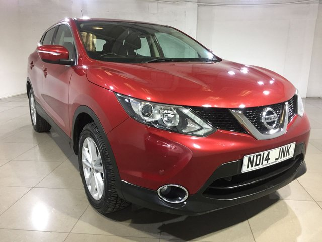 View our 2014 14 NISSAN QASHQAI 1.5 DCI ACENTA SMART VISION 5d 108 BHP