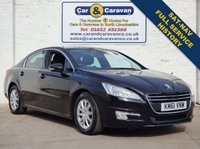 USED 2011 61 PEUGEOT 508 2.0 SR HDI FAP 4d 163 BHP Full Service History SAT-NAV 0% Deposit Finance Available