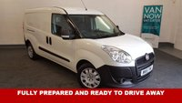 USED 2015 15 FIAT DOBLO 1.6 16V Multijet 105bhp *Long Wheel Base* 38,737 miles Bluetooth Phone Connectivity, AUX/USB/MP3 6 Speed **Drive Away Today** Over The Phone Low Rate Finance Available, Just Call us on 01709 866668