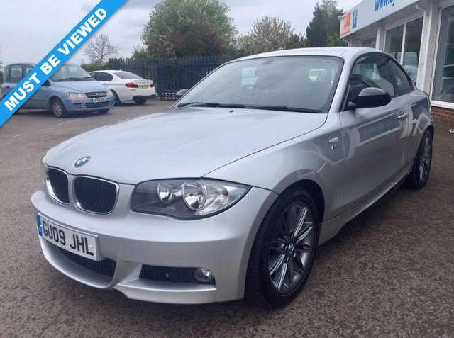 2009 09 BMW 1 SERIES 2.0 120d M Sport 2dr