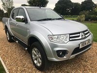 USED 2014 14 MITSUBISHI L200 2.5 DI-D 4X4 BARBARIAN LB DCB 1d 175 BHP REVERSE CAMERA, HEATED LEATHER