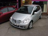 2010 MERCEDES-BENZ A CLASS 1.5 A160 AVANTGARDE SE 5d AUTO 95 BHP £5995.00