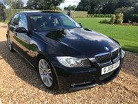 USED 2008 08 BMW 3 SERIES 3.0 335D M SPORT 4d AUTO 282 BHP SATNAV, PARK ASSIST, HEATED LEATHER