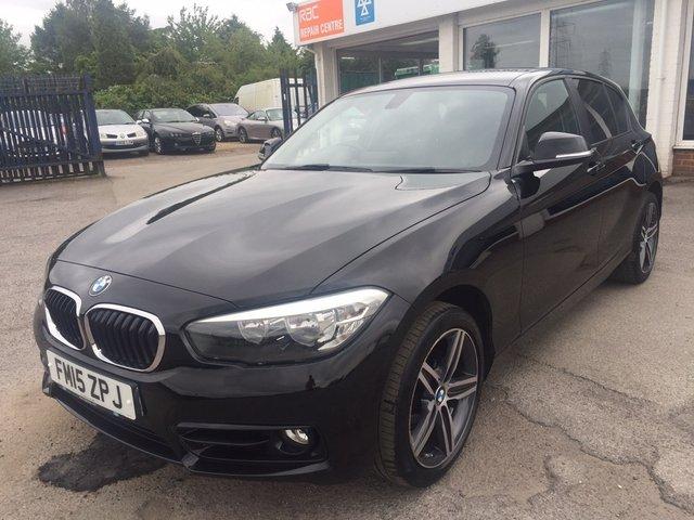 2015 15 BMW 1 SERIES  2.0 118d Sport Sports Hatch 5dr (start/stop)