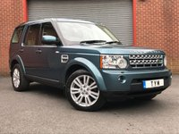 USED 2012 12 LAND ROVER DISCOVERY 3.0 4 SDV6 XS 5d AUTO 255 BHP 1 OWNER FROM NEW+FULLY LOADED