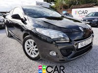 USED 2013 13 RENAULT MEGANE 1.5 DYNAMIQUE TOMTOM ENERGY DCI S/S 3d 110 BHP SERV HISTORY + SAT NAV