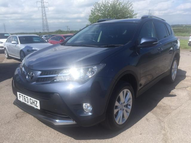2013 63 TOYOTA RAV4 2.2 D-4D Invincible Station Wagon AWD 5dr
