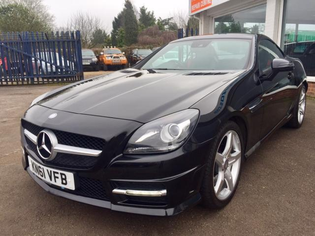 2011 61 MERCEDES-BENZ SLK 1.8 SLK250 BlueEFFICIENCY AMG Sport Edition 125 7G-Tronic Plus 2dr