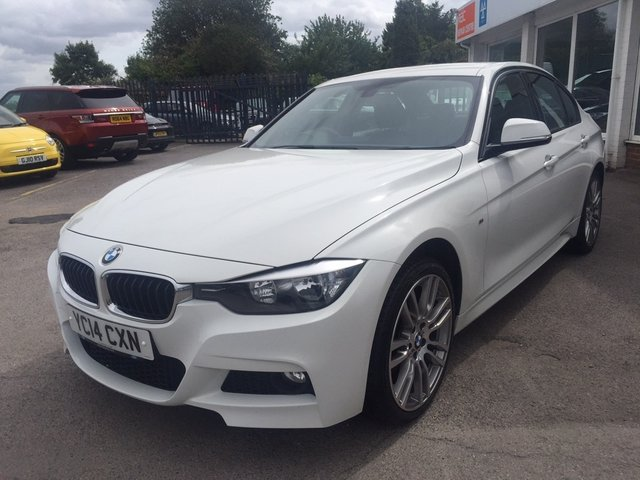 2014 14 BMW 3 SERIES 2.0 320d M Sport xDrive 4dr (start/stop)