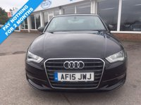 USED 2015 15 AUDI A3 CABRIOLET 2.0 TDI Sport 2dr **PAY NOTHING FOR 2 MONTHS**