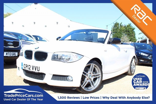 View our 2012 12 BMW 1 SERIES 2.0 118D SPORT PLUS EDITION 2d 141 BHP