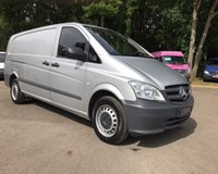 USED 2014 64 MERCEDES-BENZ VITO 116 CDI EXTRA LONG WHEEL BASE, AIR CON Extra Long Wheel Base, Air Conditioning