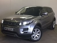 USED 2012 62 LAND ROVER RANGE ROVER EVOQUE 2.2 ED4 PURE 5d 150 BHP LEATHER PRIVACY PDC FSH NO FINANCE REPAYMENTS FOR 2 MONTHS STC. STUNNING GREY MET WITH FULL BLACK LEATHER TRIM. HEATED SEATS. CRUISE CONTROL. 18 INCH ALLOYS. COLOUR CODED TRIMS. PRIVACY GLASS. PARKING SENSORS. BLUETOOTH PREP. AIR CON. MULTIMEDIA SYSTEM. R/CD/DAB RADIO. 6 SPEED MANUAL. MFSW. MOT 05/18. FULL SERVICE HISTORY. FCA FINANCE APPROVED DEALER. TEL 01937 849492