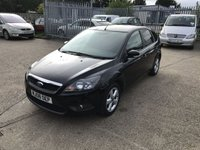 USED 2008 08 FORD FOCUS 1.8 ZETEC 5d 125 BHP