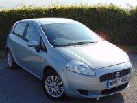 USED 2007 07 FIAT GRANDE PUNTO 1.2 DYNAMIC 8V 5d * IDEAL FIRST CAR *