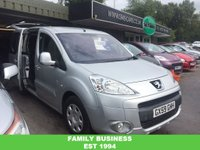 USED 2009 59 PEUGEOT PARTNER 1.6 HDi Tepee S 5dr WHEELCHAIR ACCESS/LOW MILEAGE