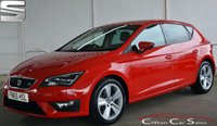 USED 2015 65 SEAT LEON 2.0TDi FR (TECHNOLOGY PACK) 5 DOOR 6-SPEED 184 BHP Finance? No deposit required and decision in minutes.