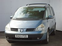 USED 2004 04 RENAULT ESPACE 1.9 EXPRESSION DCI 5d 120 BHP