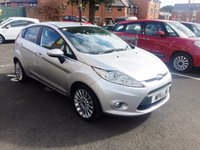 USED 2011 11 FORD FIESTA 1.4 TITANIUM 5d AUTO 96 BHP EXCELLENT FUEL ECONOMY!!..LOW CO2 EMISSIONS..FULL HISTORY...ONLY 11050 MILES FROM NEW!!...ALLOY WHEELS, CRUISE CONTROL AND REMOTE CENTRAL LOCKING!!