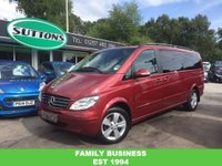 2004 MERCEDES-BENZ VIANO 2.2CDI (163bhp) Avantgarde (Long) MPV 5d 2143cc MANUAL £10989.00