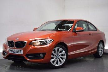 2015 BMW 2 SERIES 1.5 218I SPORT 2d 134 BHP £13990.00