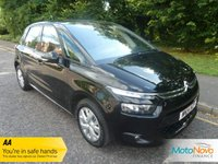 USED 2014 14 CITROEN C4 PICASSO 1.6 E-HDI AIRDREAM VTR PLUS ETG6 5d AUTO 113 BHP FANTASTIC VALUE ONE LADY OWNED AUTOMATIC C4 PICASSO WITH AUTOMATIC AIR CONDITIONING, CRUISE CONTROL, ALLOY WHEELS AND CITROEN SERVICE HISTORY