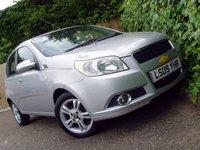 USED 2009 09 CHEVROLET AVEO 1.4 LT 5d AUTO 99 BHP