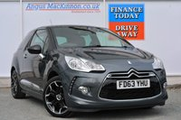 USED 2014 63 CITROEN DS3 1.6 E-HDI DSTYLE PLUS 3d 90 BHP AIR CONDITIONING