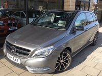 2014 MERCEDES-BENZ B CLASS 1.5 B180 CDI BLUEEFFICIENCY SPORT 5d AUTO 107 BHP £13795.00