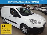 2014 PEUGEOT PARTNER 1.6 HDI PROFESSIONAL L1 625 74 BHP ONE OWNER-AIR CON £4595.00