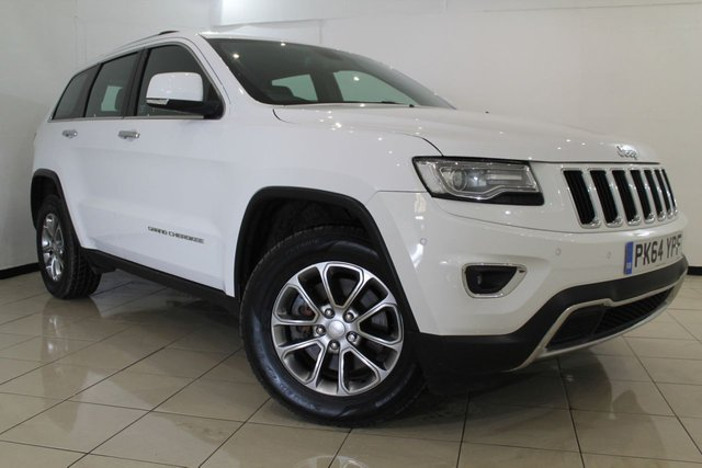 View our 2014 64 JEEP GRAND CHEROKEE 3.0 V6 CRD LIMITED 5DR AUTOMATIC 247 BHP