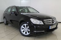 USED 2013 13 MERCEDES-BENZ C CLASS 2.1 C220 CDI BLUEEFFICIENCY EXECUTIVE SE 5DR 168 BHP FULL MERCEDES SERVICE HISTORY + LEATHER SEATS + SAT NAVIGATION + CLIMATE CONTROL + PARKING SENSOR + BLUETOOTH + CRUISE CONTROL + MULTI FUNCTION WHEEL + ALLOY WHEELS