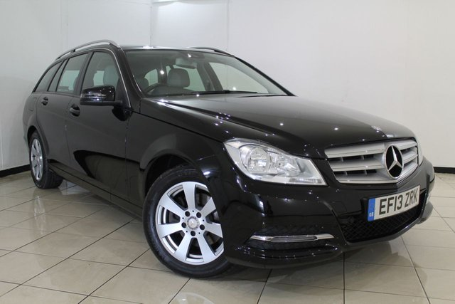 View our 2013 13 MERCEDES-BENZ C CLASS 2.1 C220 CDI BLUEEFFICIENCY EXECUTIVE SE 5DR 168 BHP