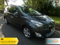 USED 2012 61 RENAULT GRAND SCENIC 1.5 DYNAMIQUE TOMTOM DCI EDC 5d AUTO 110 BHP VERY NICE HIGH SPEC GRAND SCENIC AUTOMATIC  WITH ONE LADY OWNER FROM NEW, SATELLITE NAVIGATION, HALF LEATHER SEATS, AIR CONDITIONING, CRUISE CONTROL, ALLOY WHEELS AND RENAULT SERVICE HISTORY